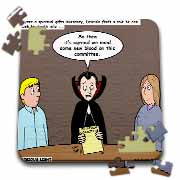 Dracula on the Church Outreach Committee Puzzle