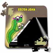 Eelton John the piano player Puzzle