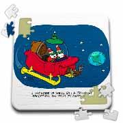 Nelson Dewey - Alien Craft Resembles Santas Sleigh Puzzle