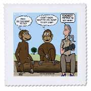 Dr. Jane Goodalls 50th anniversary at GDI - monkey business Quilt Square