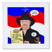The Trace Adkins Diets Quilt Square