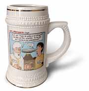 Ten Commandments, Origins Stein Mug