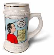 Difficult Pastor Call List Stein Mug