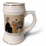 Sermon Count-Down Clock and Blast Horn Stein Mug