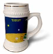 High Tornado Areas on Other Planets Trailer Parks Stein Mug