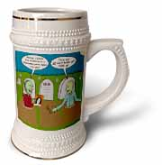 Halloween - Zombies are Invited to Michael Jacksons Party Stein Mug