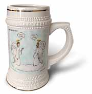 Heavenly Angels Question and Answer - Its All Good Stein Mug