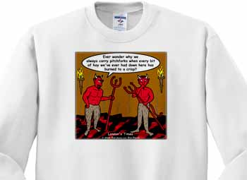Devilish Questions  Sweatshirt