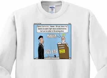 Calvin - Heaven Can Wait Sweatshirt