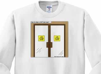 How to Close a 24-7 Minimart Sweatshirt
