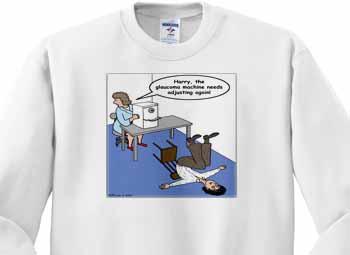 Eye Doctor - Glaucoma Test Sweatshirt
