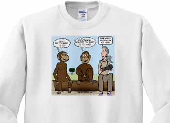 Dr. Jane Goodalls 50th anniversary at GDI - monkey business Sweatshirt