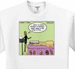 Broom Funerals  T-Shirt