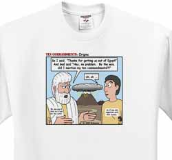 Ten Commandments, Origins T-Shirt