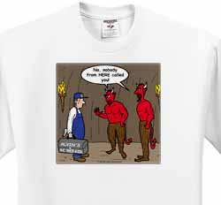 Air Conditioner Repair in Hell T-Shirt