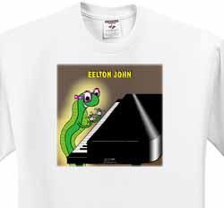 Eelton John the piano player T-Shirt