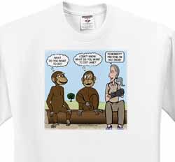 Dr. Jane Goodalls 50th anniversary at GDI - monkey business T-Shirt