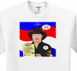 The Trace Adkins Diets T-Shirt