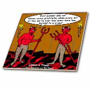 Devilish Questions  Tile