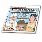Ten Commandments, Origins Tile