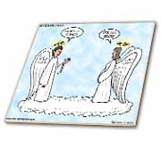 Heavenly Angels Question and Answer - Its All Good Tile