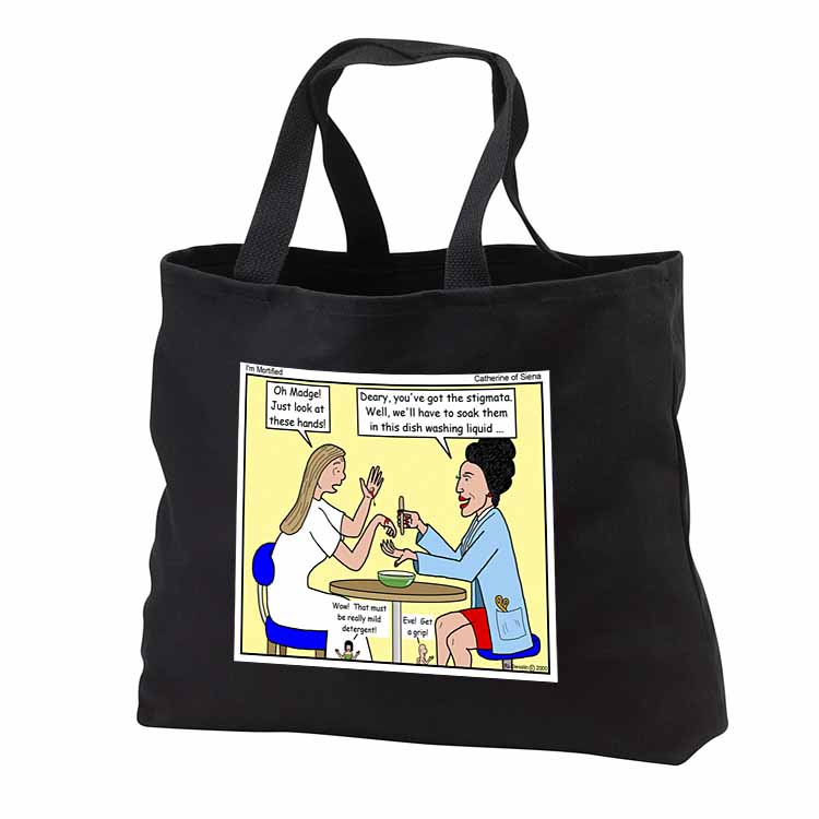 Catherine of Siena - Im Mortified Tote Bag