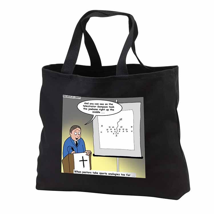 Pastor Telestrator Tote Bag