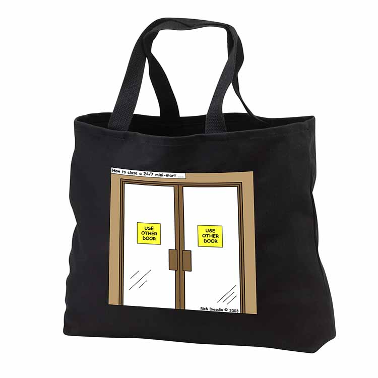 How to Close a 24-7 Minimart Tote Bag