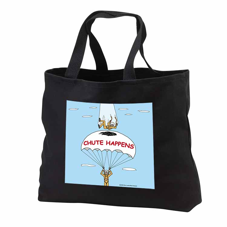 Chute Happens Tote Bag