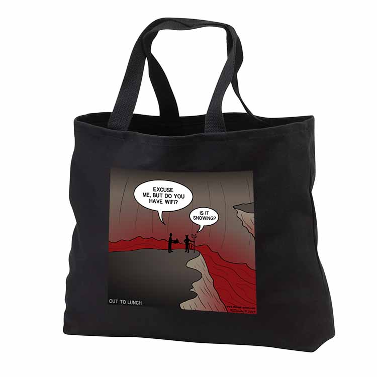 Wifi in Hell Tote Bag