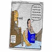 Irenaeus - Studies At the Feet of Polycarp Towel