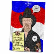 The Trace Adkins Diets Towel