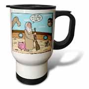 Not Much Glamour In Running Noah s Ark  Travel Mug