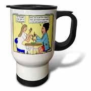 Catherine of Siena - Im Mortified Travel Mug