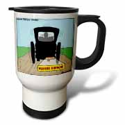 Manure Happens Travel Mug