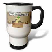 Butter Business Bureau Travel Mug