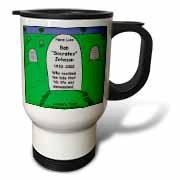 Unexamined Life Tombstone Travel Mug
