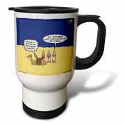 GPS Navigation and the Three Wisemen Travel Mug