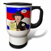 The Trace Adkins Diets Travel Mug