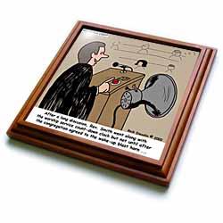 Sermon Count-Down Clock and Blast Horn Trivet