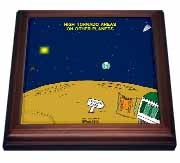 High Tornado Areas on Other Planets Trailer Parks Trivet