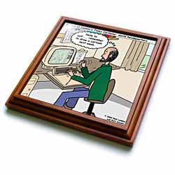 Pressures of Being a Cartoonist Trivet