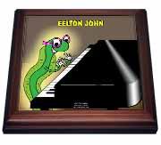 Eelton John the piano player Trivet