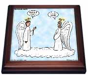 Heavenly Angels Question and Answer - Its All Good Trivet