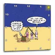 GPS Navigation and the Three Wisemen Wall Clock