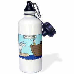 Sorry  No Unicorns  Water Bottle