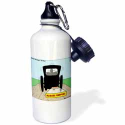 Manure Happens Water Bottle