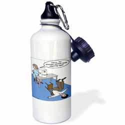 Eye Doctor - Glaucoma Test Water Bottle