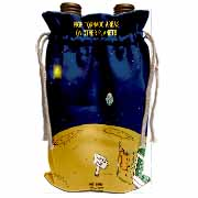 High Tornado Areas on Other Planets Trailer Parks Wine Bag