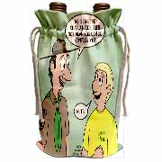 KNOTS cartoon - Scout confession and the chaplain aide Wine Bag